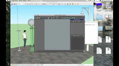 tutorial sketchup mac tutorial iniciacion kerkythea 1 3 youtube