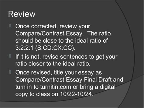 Compare Contrast The Olsens Vs The Trainas by Compare Contrast Essay Draft 3