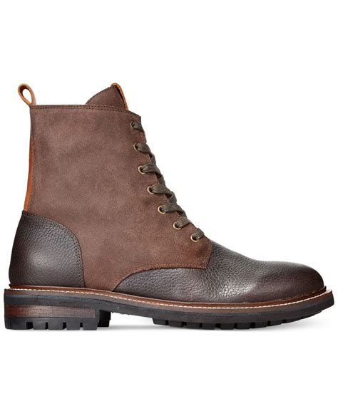 hilfiger s boots hilfiger hatch boots in brown for lyst