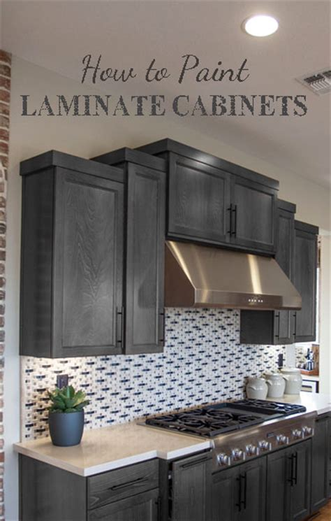Painting Laminate Cabinets Painted Furniture Ideas Can You Paint Vinyl Kitchen Cabinets