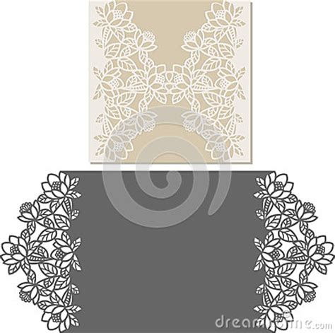 laser cut invitation card laser cut pattern for