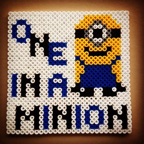 perler bead patterns minion 84 best images about minions perleplader on