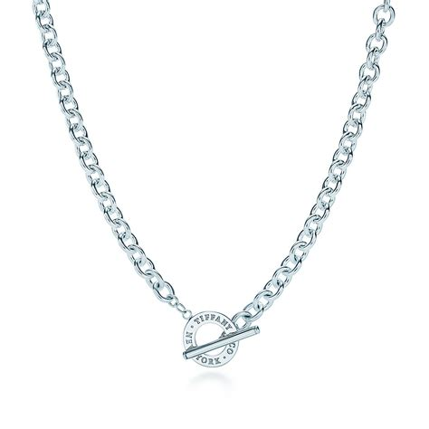 toggle necklace in sterling silver co