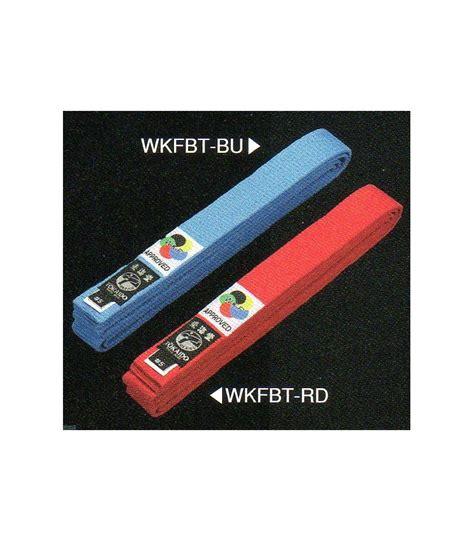 Sabuk Biru Karate Hokido Ultimate sabuk karate tokaido belt wkf approved merah biru blue