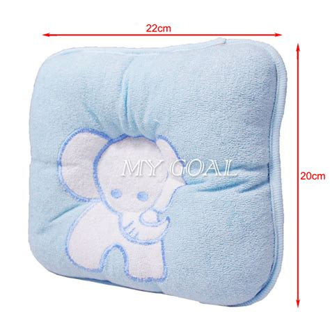 Pillow To Prevent Neck by Anti Roll Newborn Baby Foam Infant Memory Pillow Prevent