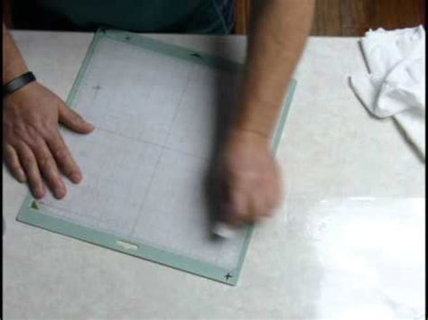 cricut cutting mat cleaning method