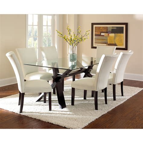 Glass kitchen dining tables wayfair table clipgoo