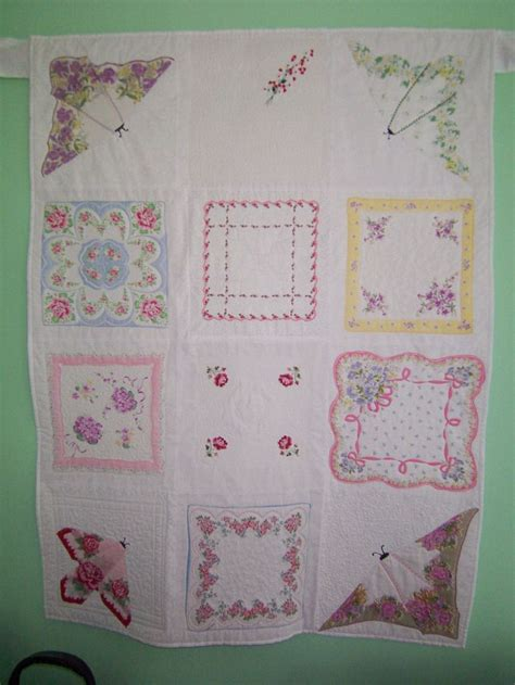Hankie Quilts by 1000 Images About Hankie Quilts On Wedding