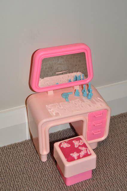 vintage barbie dream furniture vanity flickr photo