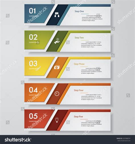 number templates for banners design clean number banners templatetags website stock