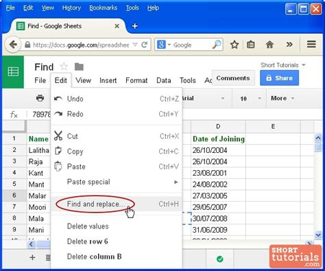 Find Gmail How To Search Words In Specific Range Of Docs Spreadsheet
