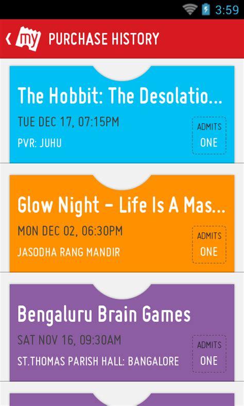 bookmyshow booking id bookmyshow movie tickets plays aplicaciones de android