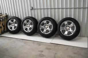 Chevy Truck 20 Inch Wheels Chevy 20 Inch Oem Tahoe Silverado Suburban Wheels