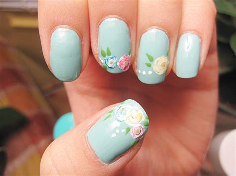 simple nail designs step by step at home for