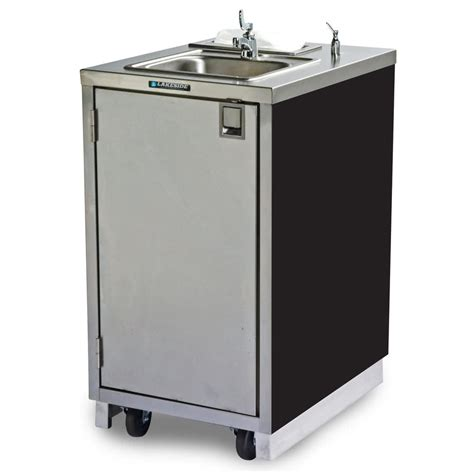 shoo bowl portable self contained sink lakeside 9620 portable self contained stainless steel