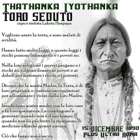 toro seduto frasi toro seduto 15 dicembre 1890 thathanka plus ultra roma