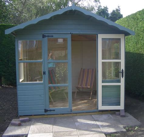 Painted Garden Sheds Uk by Painted Oulton Summerhouse