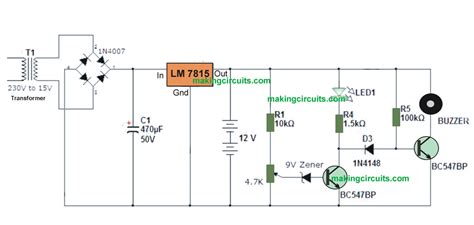 simple charger circuit simple 12v battery charger with battery indicator