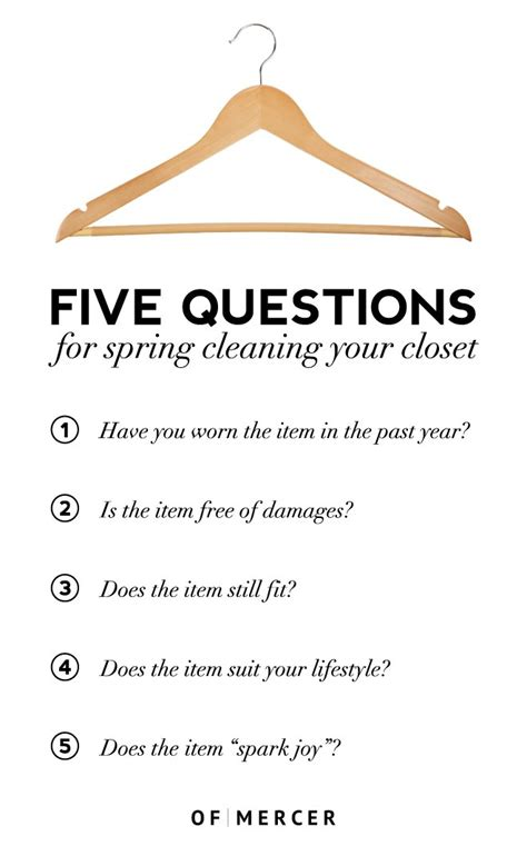 Or Questions Clean Give Your Closet A Cleaning Of Mercer