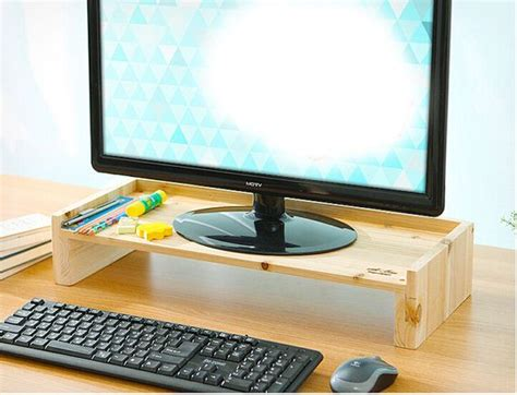 desk gifts for him 20 best wood monitor risers images on pinterest monitor