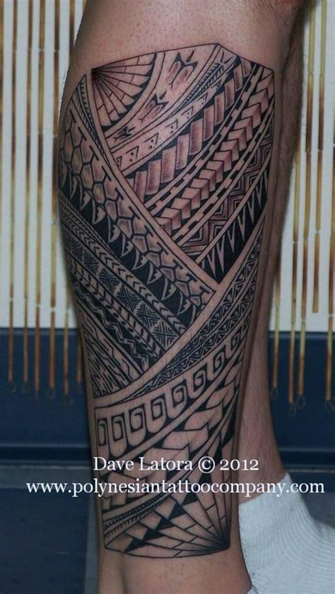 polynesian tattoo inspiration polynesian leg tattoo kakau pinterest polynesian leg