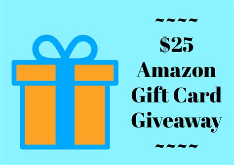 25 Amazon Gift Card - 25 amazon gift card giveaway mama likes this