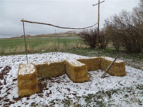 A Shot At Straw Bale Gardening Straw Bale Garden Layout
