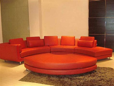 round sectional roller espresso leather sectional round sofa sectionals