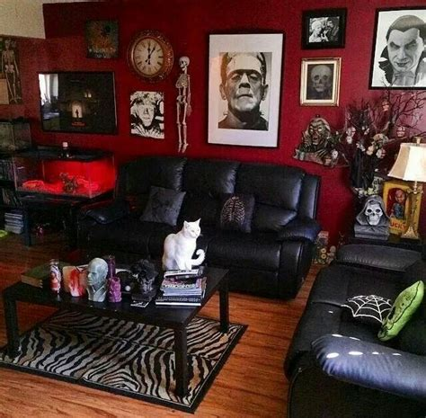 gothic living room 17 best ideas about rockabilly home decor on pinterest
