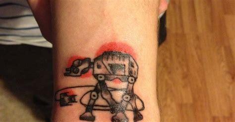 tattoo on back empire new tattoo i got star wars atat walker from empire