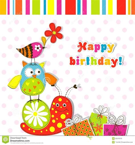 free birthday card templates printable template greeting card royalty free stock image image