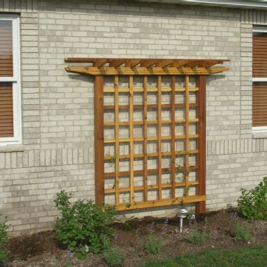 diy trellis plans custom trellis to match pergola landscapes by earth design