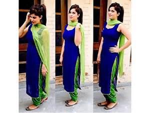 Designer punjabi patiala suit salwar kameez dress material women