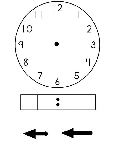 digital clock template printable all worksheets 187 blank digital clock worksheets