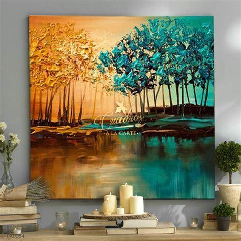 imagenes de cuadros abstractos al oleo cuadros decorativos al 211 leo cuadros paisajes c084