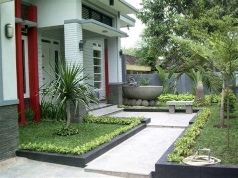 desain taman depan rumah dengan air mancur taman minimalis belakang rumah design rumah minimalis