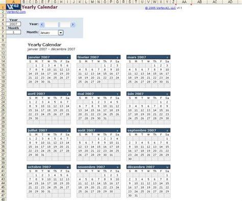 Calendã Stf 2017 Mod 232 Le De Calendrier Excel Annuel Mac T 233 L 233 Charger