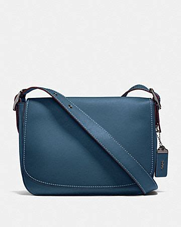 Coach Bowery Stripe Saddle 1 coach 1941 s collection