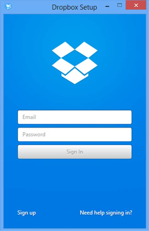 dropbox windows application overview