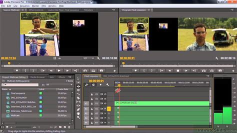 how to use the multicam editor in adobe premiere pro cs6 adobe premiere pro cc tutorial performing multi camer
