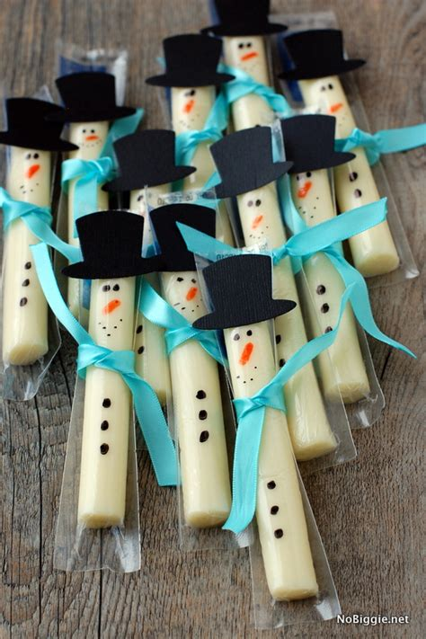 string cheese snowman fun family crafts