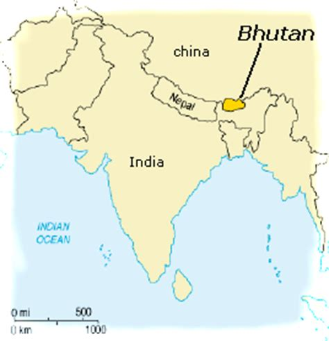 where is bhutan on a world map a boy at sea on the happiest