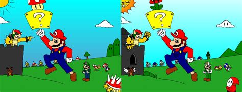 Find With Find The Difference With Mario By Mortimermcmirestinks On Deviantart