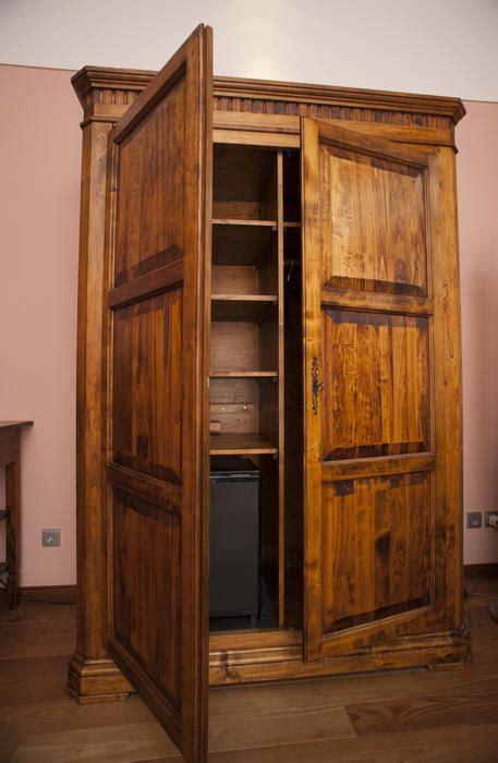 stock photo   wooden wardrobe  armoire