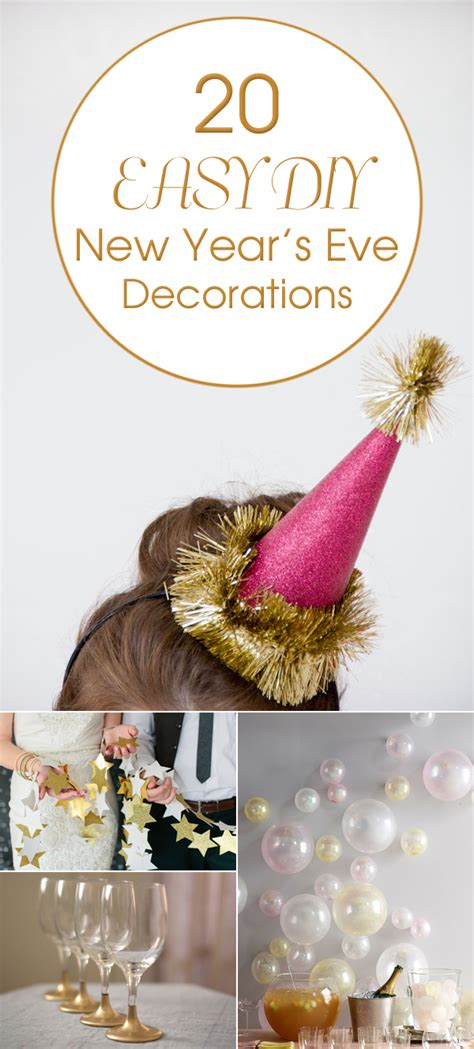 new year 2015 diy 20 easy diy new year s decorations