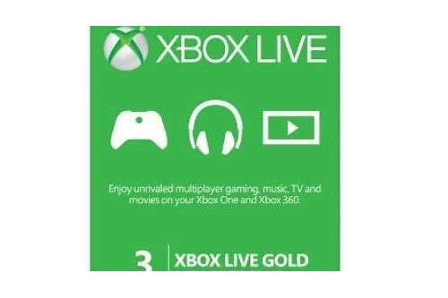 xbox live gold hot deals