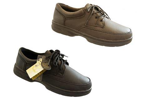 mens dr keller leather wide fit lace up black taupe grey