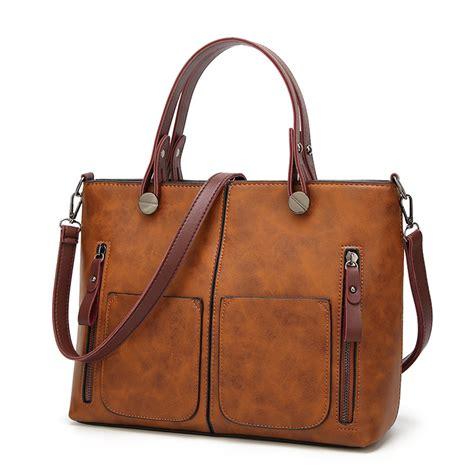 Tas Fashion Wanita Brown 880342 tas selempang jinjing wanita europan american fashion bag