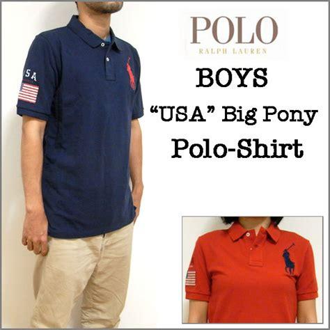 Polo Boy Usa ralph boys ラルフローレン ボーイズ usa big pony polo shirt ビッグポニー usa ポロシャツ 国別 アメリカ