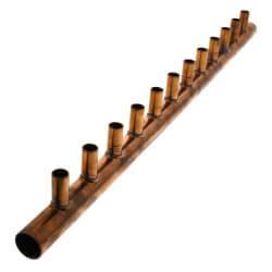 Copper Manifold Plumbing by Copper Sweat Manifolds Pex Manifolds Plumbing Pex